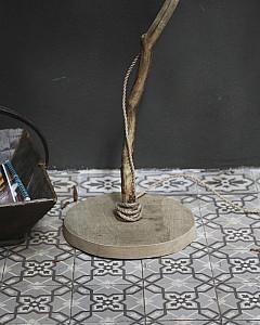 houten stoere lamp | wooden lamp www.dutchdilight.com