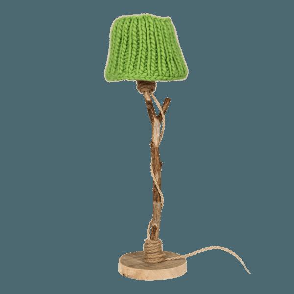 Bordslampa trä landstil Dutch Dilight