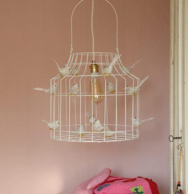 wite hanglamp slaapkamer