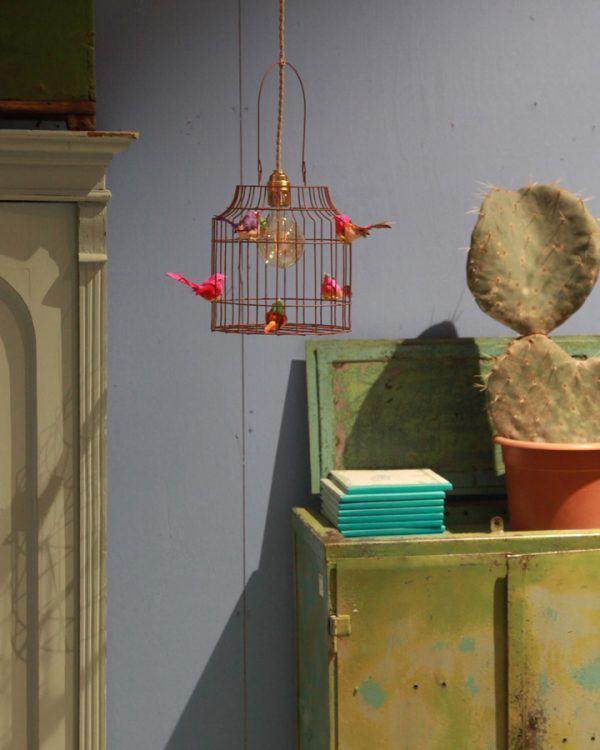 babykamer hanglamp vogels
