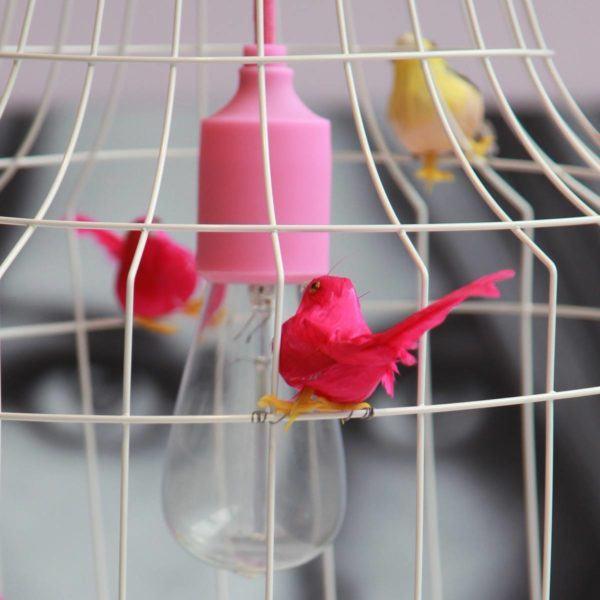 Fågelbur hängande lampa kitchen