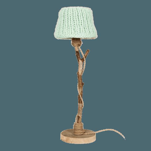 Bordslampa trä mintDutch Dilight