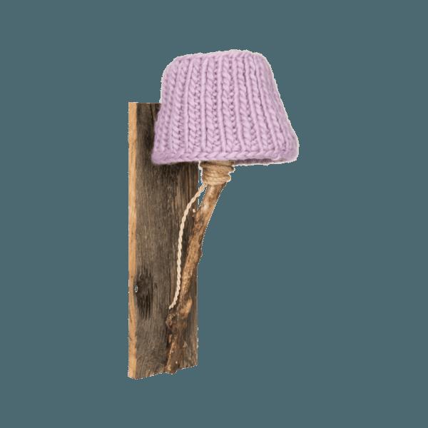Trävägglampa lilla